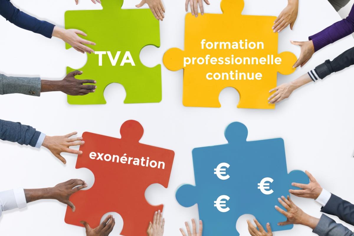 TVA & formation professionnelle continue : l'administration fiscale peut-elle remettre en cause l'exonération ?