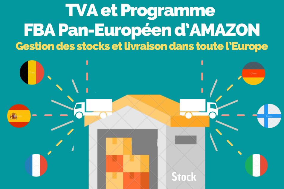 TVA et Programme FBA Pan-Européen d'AMAZON
