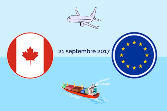 CETA entrée en vigueur des aspects douaniers
