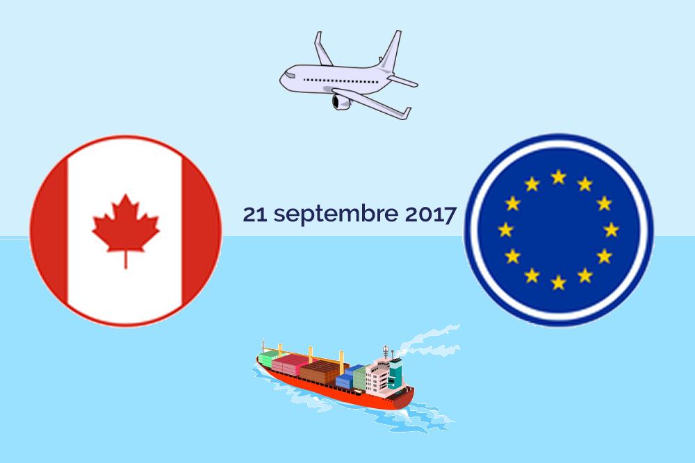 CETA: l'accord douanier est entré en vigueur le 21 septembre