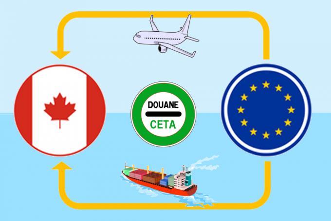 CETA procédures exportateurs