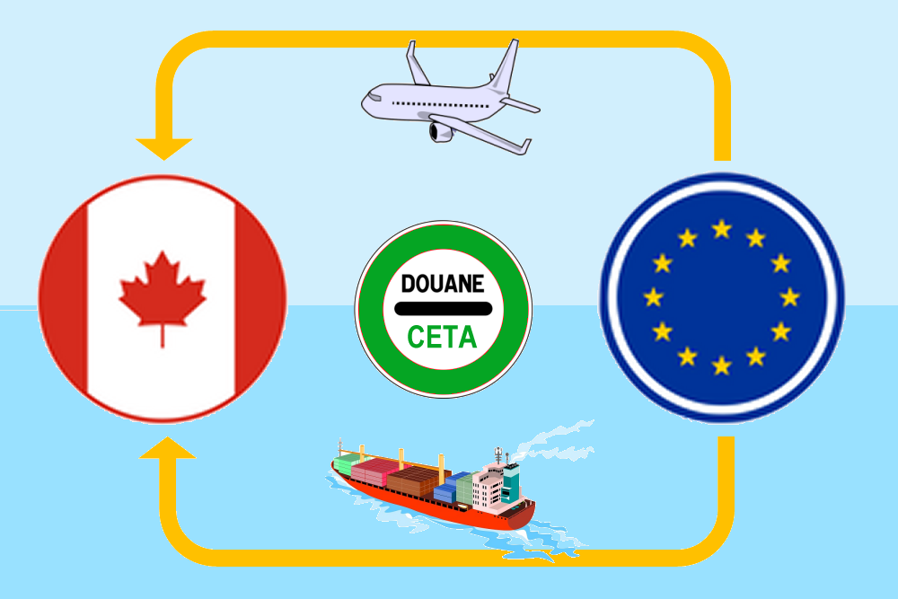 CETA : exportateurs, dispensez vos clients de droits de douane au Canada
