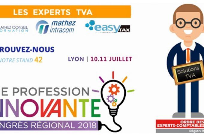 Congrès Régional de l'Ordre des Experts-Comptables Rhône-Alpes 2018