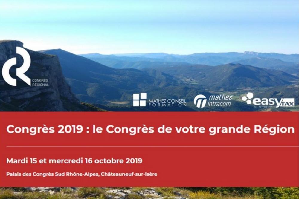 Congrès Régional de l'Ordre des Experts-Comptables Rhône Alpes 2019