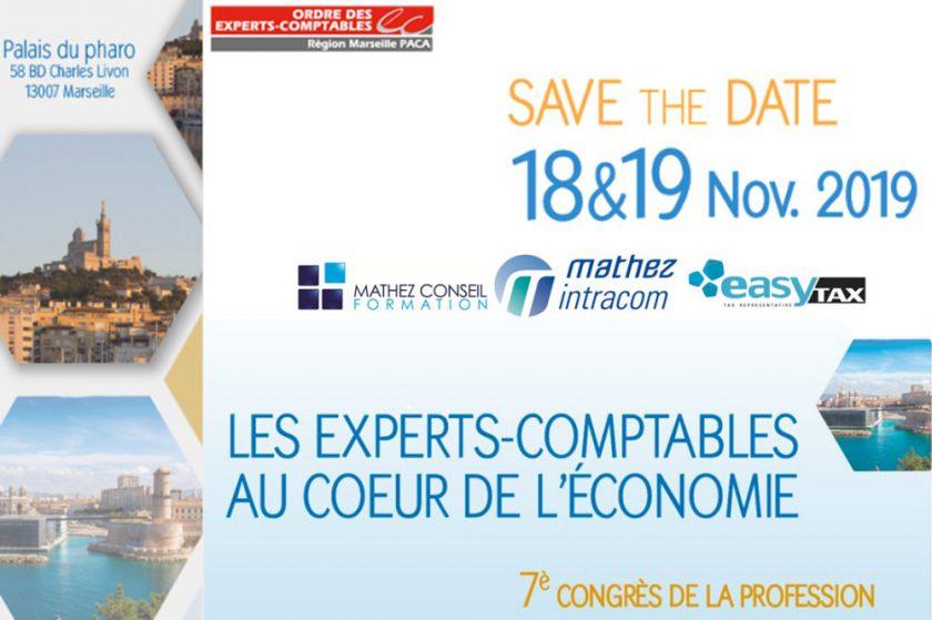 Congrès Régional de l'Ordre des Experts-Comptables à Marseille