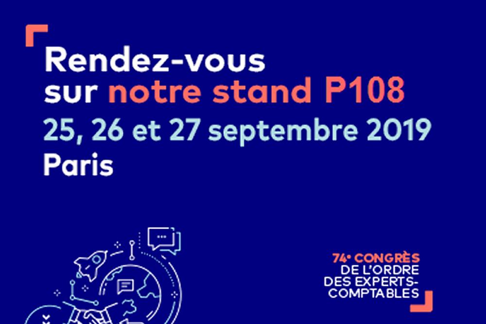 74e congrès de l'ordre des experts-comptables, Paris 2019