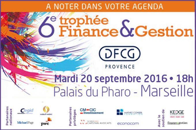 6ème Trophée Finance & Gestion Provence
