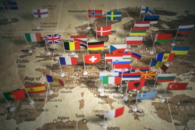 TVA en UE taux 2018