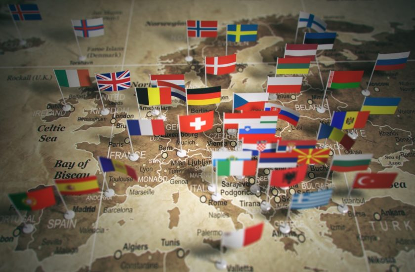 Taux de TVA 2018 en Europe